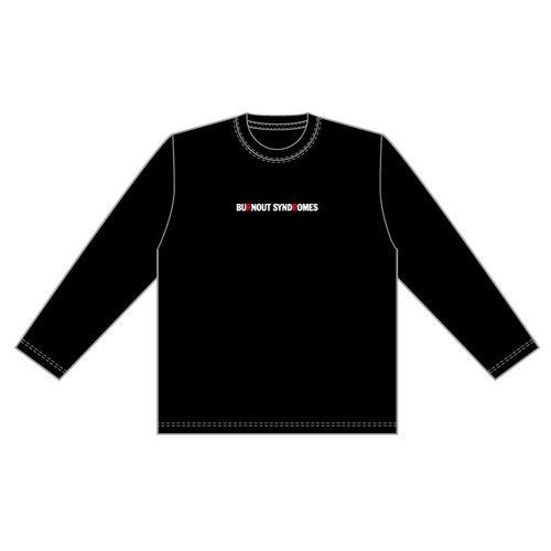 【BURNOUT SYNDROMES】LOGO刺繍ロングスリーブTシャツ