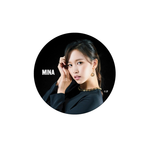 TWICE JAPAN 2nd ALBUM 『&TWICE』RELEASE EVENT &TWICE缶バッチ【MINA】
