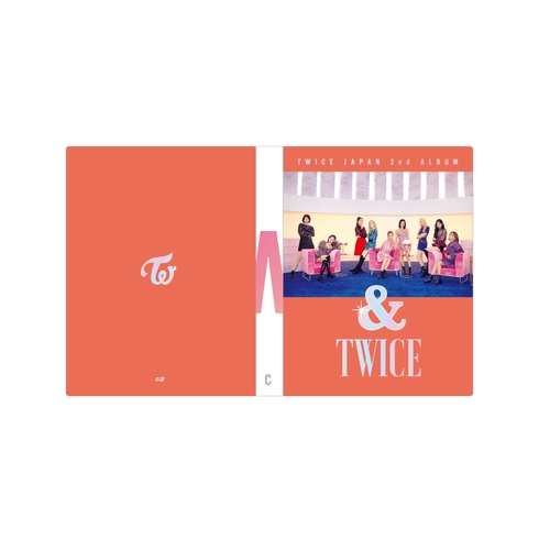 TWICE JAPAN 2nd ALBUM 『&TWICE』RELEASE EVENT &TWICEトレカケース