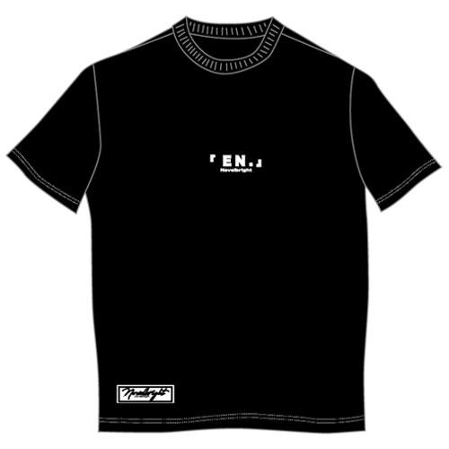 「EN.」LOGO T-SHIRT/ブラック