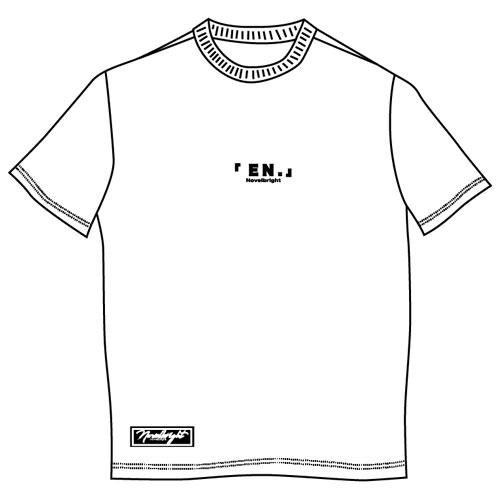 「EN.」LOGO T-SHIRT/ホワイト