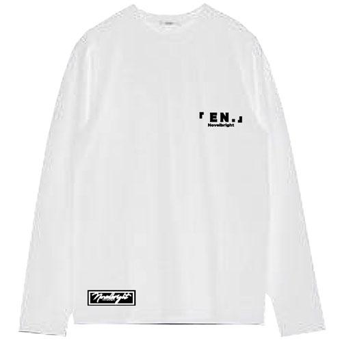 「EN.」LOGO  LONG T-SHIRT/ホワイト