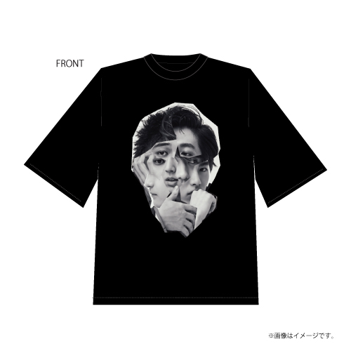 [DISH//]DISH// Winter Collection Collage T-shirts(Black)  Produced by 橘柊生&北村匠海