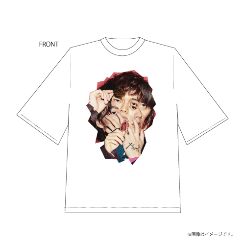 [DISH//]DISH// Winter Collection Collage T-shirts(White)  Produced by 橘柊生&北村匠海
