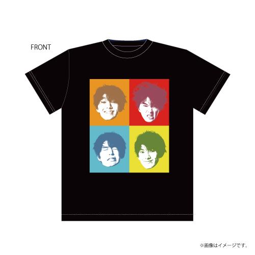 [DISH//]矢部昌暉23歳生誕記念 喜怒哀楽Tシャツ