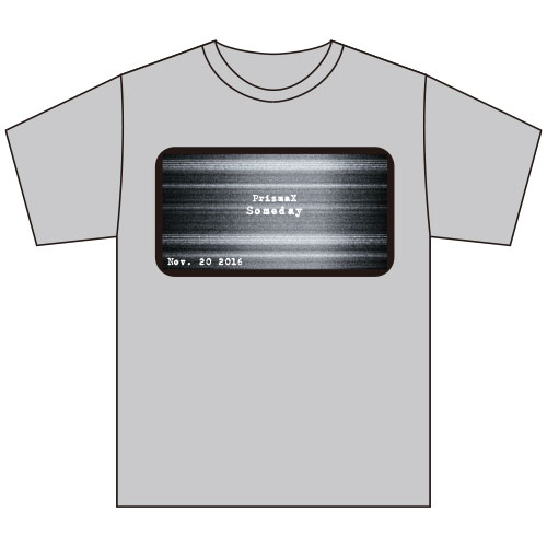 [PrizmaX]LEVEL4 Tシャツ(グレー)