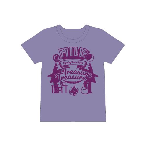 [M!LK]Treasure Treasure T-shirt【紫】