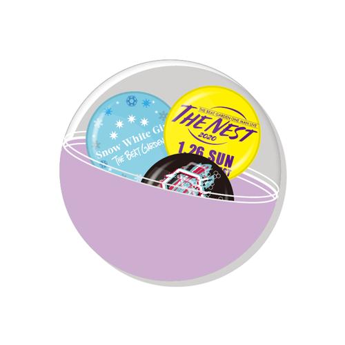 【会場限定】THE NEST 2020 ランダム缶バッジ