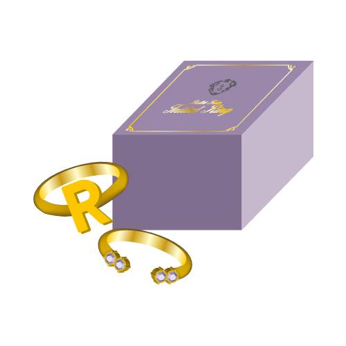 [超特急]【FC会員通販限定】Initial Ring(R/紫)