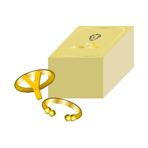 [超特急]【FC会員通販限定】Initial Ring(Y/黄)