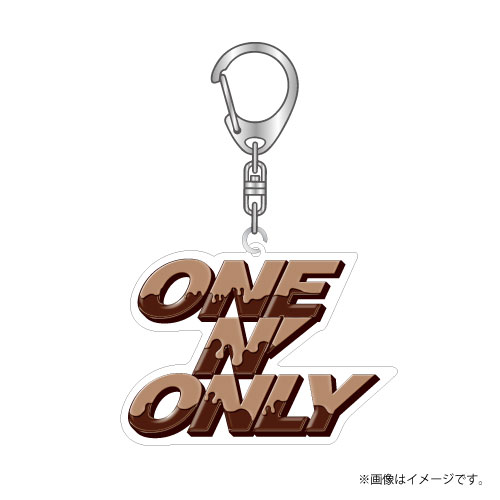 [ONE N' ONLY]ONE N' ONLY アクリルロゴキーホルダー #002