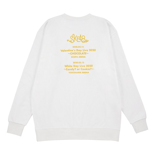 SKE48 Live 2020 スウェット(WHITE)