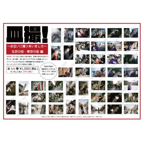 [DISH//]皿撮!〜お互いに撮りあいました〜 北京の街・東京の街 編 生写真セット