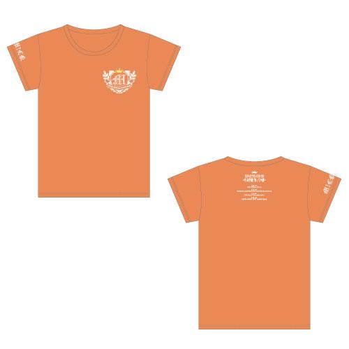 [M!LK]牛丸学園ブルジョワ部公式Tシャツ 【橙】