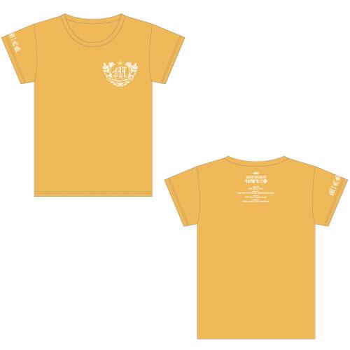 [M!LK]牛丸学園ブルジョワ部公式Tシャツ 【黄】