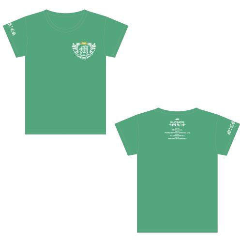 [M!LK]牛丸学園ブルジョワ部公式Tシャツ 【緑】