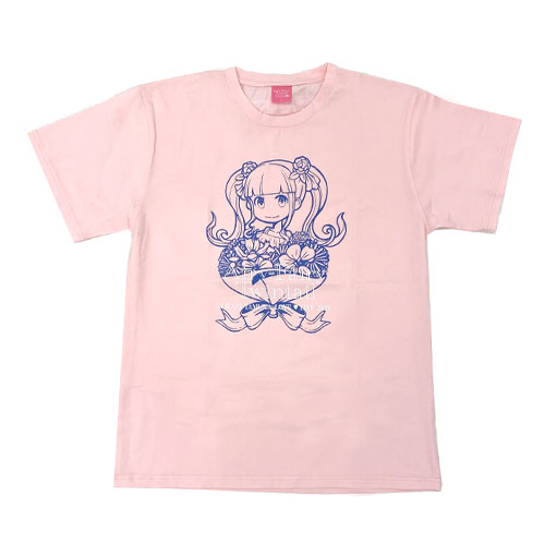 【LOVE  LIVE 2021 *Airy-Fairy Twintail* ツアーグッズ】Tシャツ ライトピンク