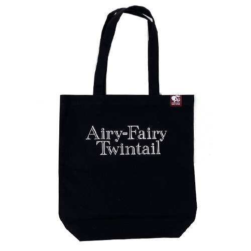 【LOVE  LIVE 2021 *Airy-Fairy Twintail* ツアーグッズ】トートバッグ ブラック