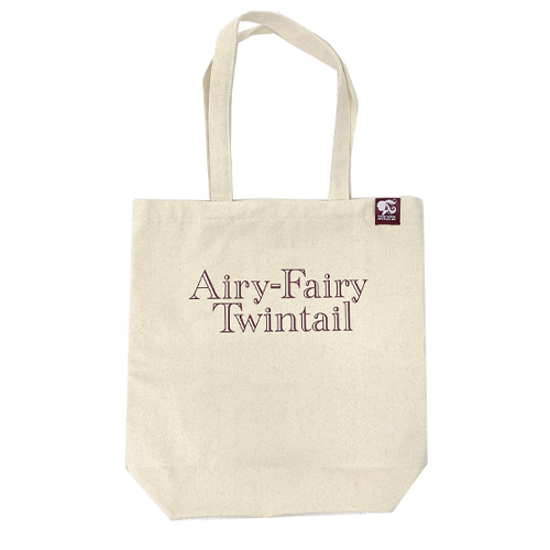 【LOVE  LIVE 2021 *Airy-Fairy Twintail* ツアーグッズ】トートバッグ ベージュ