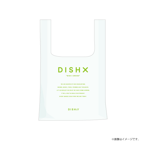 [DISH//]DISH X PVC Clear Eco Bag【Clear】