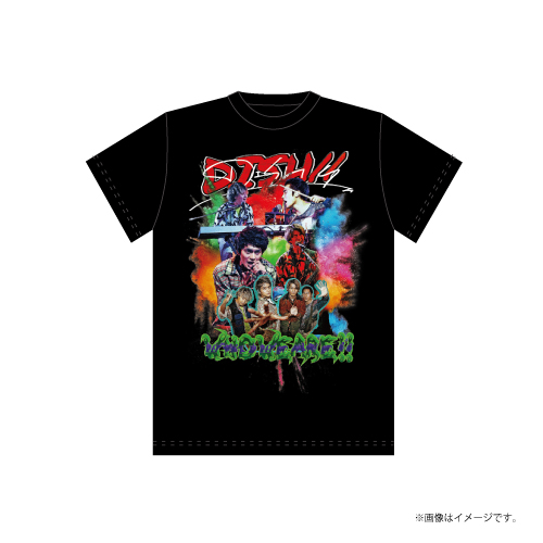 [DISH//]DISH X Band T-shirts