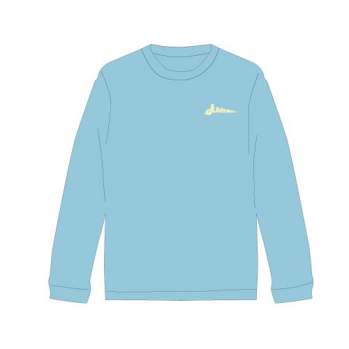[M!LK]Juvenilizm Long sleeve T-shirt【LIGHT BLUE】