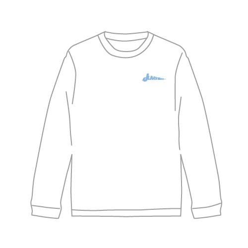 [M!LK]Juvenilizm Long sleeve T-shirt【WHITE】
