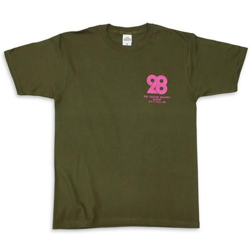 28 Tシャツ/オリーブ