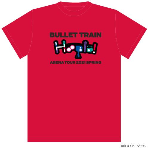 [超特急]Hoopla! T-shirts (赤)