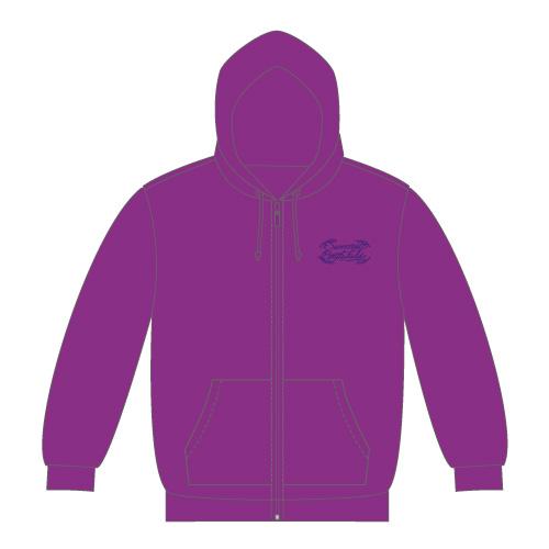[超特急]Sweetest Battlefield Parka(紫)