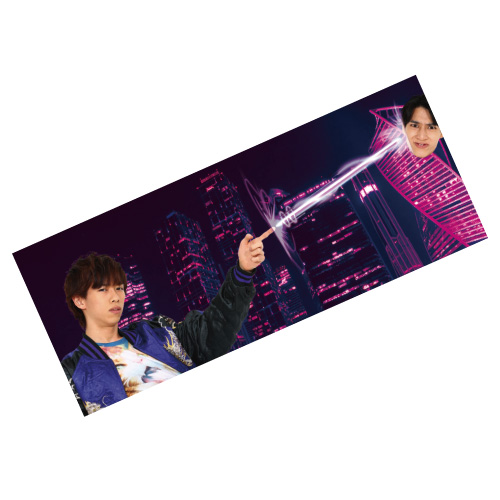[超特急]3D Design Towel(リョウガ)