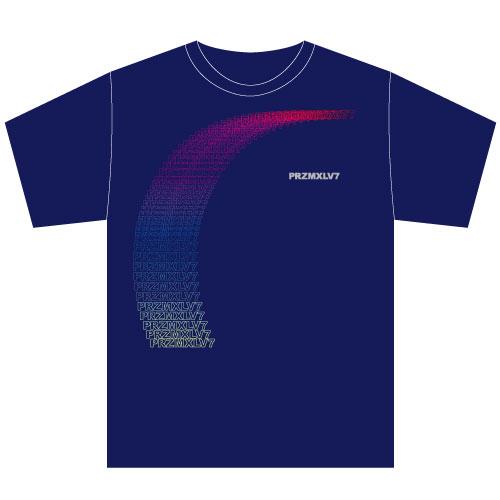 [PrizmaX]Level 7 FUSION Tシャツ【ネイビー】