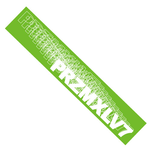 [PrizmaX]Level7 FUSION マフラータオル【緑】
