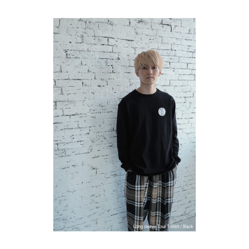 [DISH//]CIRCLE Long sleeve Tour T-shirt【Black】