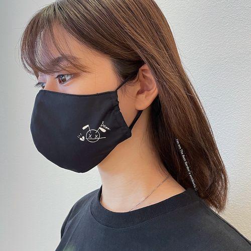 ストラップ付ウォッシャブルマスク