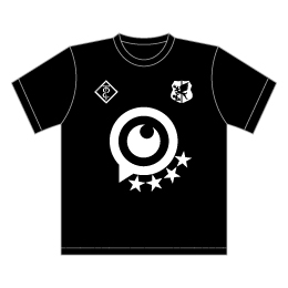 デカ目玉スポーツTシャツ(切替なし)
