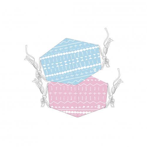 [超特急]超特急とStand up BT Cool Mask(※クール素材使用!2枚セット!)【青】