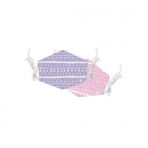 [超特急]超特急とStand up BT Cool Mask(※クール素材使用!2枚セット!)【紫】