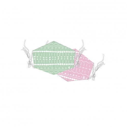 [超特急]超特急とStand up BT Cool Mask(※クール素材使用!2枚セット!)【緑】