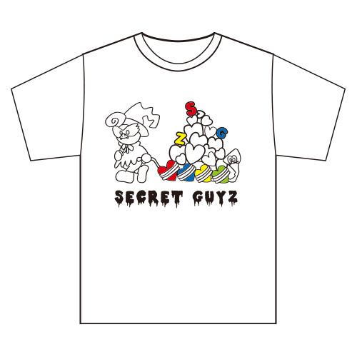 [SECRET GUYZ]IKENIE PARTY箱推しTシャツ(白)