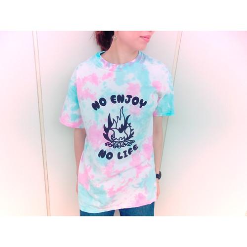 """モン吉 """"TAKIBI""""サイケTシャツ"""