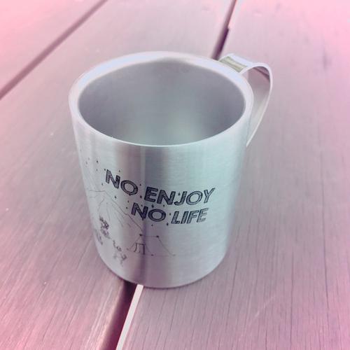 2層ステンレスマグ-No Enjoy No Life- designed by のすけ