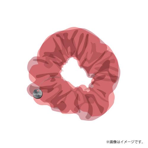[原因は自分にある。]Summer 2021 シアーシュシュ(チャーム付き)【ピンク】