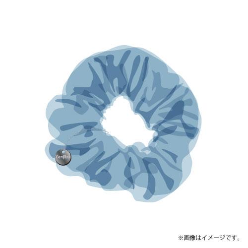[原因は自分にある。]Summer 2021 シアーシュシュ(チャーム付き)【青】