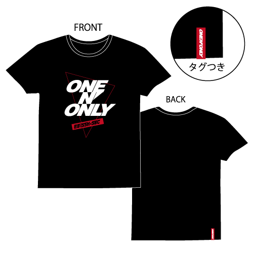 [ONE N' ONLY]ONE N' ONLY Tシャツ#001【ブラック】