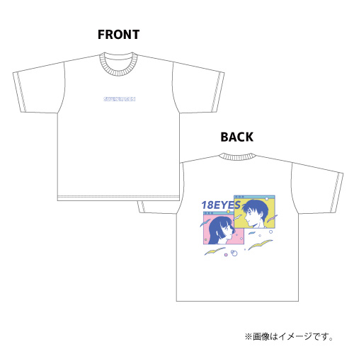 [SUPER★DRAGON]【AREA SD会員限定】18 EYES BIG Tシャツ(ホワイト)
