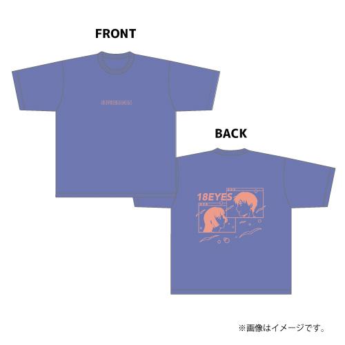 [SUPER★DRAGON]【AREA SD会員限定】18 EYES BIG Tシャツ(ダスティブルー)