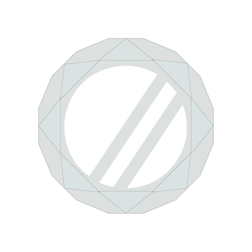 [DISH//]CIRCLE Ring Light【Clear】