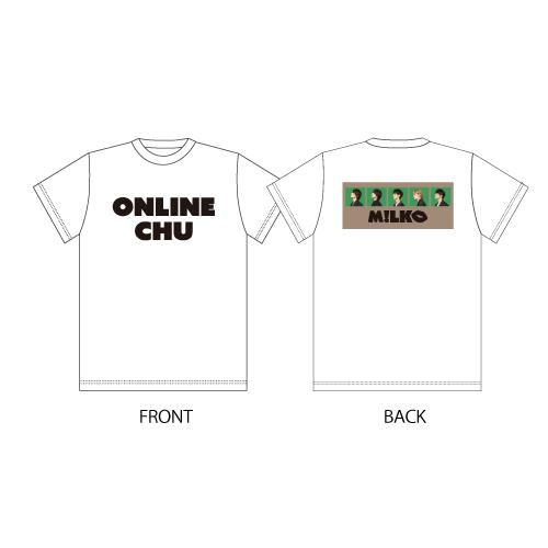 [M!LK]M!LK ONLINE CHU!? T-shirt