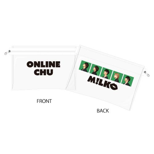 [M!LK]M!LK ONLINE CHU!? Clear pouch